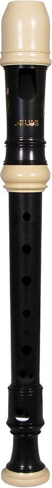 Aulos 507 Sopranino Recorder 3 piece in a cream and brown finish. Strong clear sound