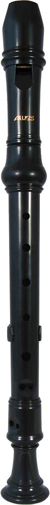 Aulos 303N Descant Recorder 3 piece in a brown finish. Blue bag