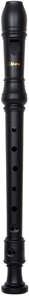 Valentino VR-105 Descant Recorder, Matt Black