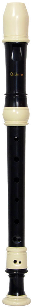 Valentino VR-206 Descant Recorder, Black/White An Excellent student recorder with good tone and intonation