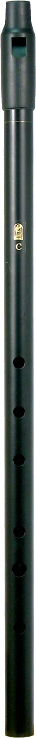 Howard Low C Whistle, Black, Tuneable With tuneable black plastic mouthpiece