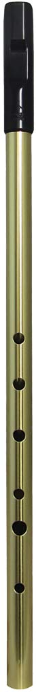 Tony Dixon Trad Alto G Whistle, Brass Tuneable ABS head with a brass body, for a lovely mellow tone