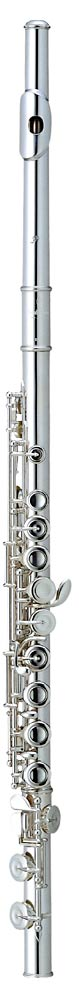 Pearl 665RE Quantz Flute, open-holed Solid silver head joint, silver plated body & footjoint