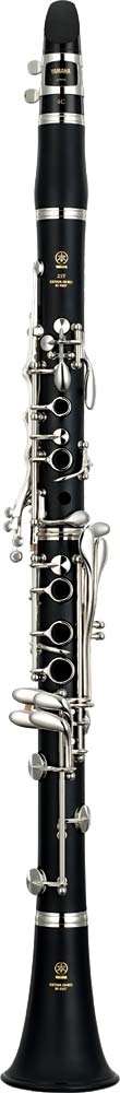Yamaha YCL-255S Bb Clarinet Bb Clarinet, matte ABS resin body, silver plated nickel silver keys