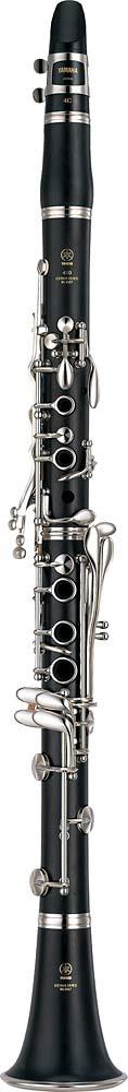 Yamaha YCL-450 MKIII Bb Clarinet Bb Clarinet, grenadilla body, silver plated keys and ligature