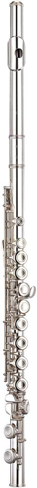 Yamaha YFL-312 Flute, solid silver head Nickel silver body and footjoint