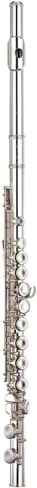 Yamaha YFL-312 Flute, solid silver head