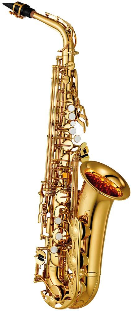 Yamaha YAS-280 Alto Saxophone Gold lacquer finish