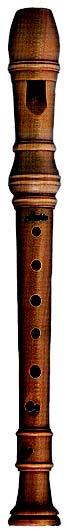 Schneider Alto Recorder, F. 3 Piece Baroque fingering