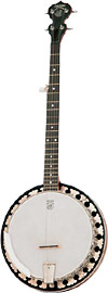Deering Boston 5 String Banjo Steel rim, rings like a tonering, records well, plays great!
