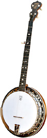 Deering Sierra 5 String Banjo Deering's lowest priced professional banjo, Mahogany with bell bronze tonering