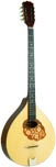 Blue Moon BB-15 Irish Bouzouki, Solid Spruce Solid spruce top, solid maple back, marquetry inlaid scratch plate. Truss rod