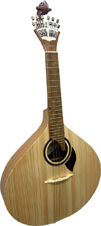 Carvalho 305 12 String Portuguese Guitar Fado Guitarra. Solid spruce top with a solid sapele body
