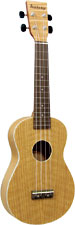 Ashbury AU-40 Concert Ukulele, Flamed Oak Flame oak top, back and sides. Satin finish. Aquila strings