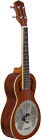 Ashbury AU-100 Tenor Resonator Ukulele, Wood Wooden bodied Tenor Uke with single resonator cone.