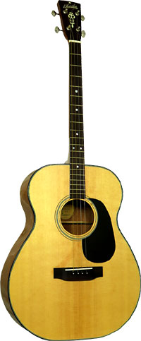 Blueridge BR-40T Contemporary Tenor Guitar CGDA Solid Sitka spruce top with scalloped braces, Standard tuning
