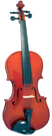 Valentino VG-100 Full Size Violin Outfit Solid spruce top, solid maple body, case and bow