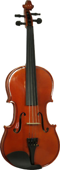 Valentino VG-100 3/4 Size Violin Outfit Solid spruce top, solid maple body, case and bow. Well specified starter Violin