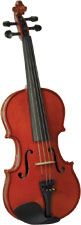 Valentino VG-100 1/4 Size Violin Outfit Solid spruce top, solid maple body, case and bow. Well specified starter Violin