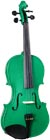Cremona SV-75 Full Size Violin, Green SV-75GN 4/4 Violin Outfit in Green