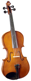 Cremona 15inch Size Viola Cremona SVA-100 15 Inch Long Premier Novice Viola with Dyed Rosewood Fittings