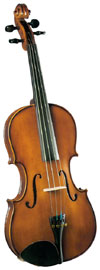 Cremona 15inch Size Viola Cremona SVA-130 15 Inch Long Premier Novice Viola with Ebony Fittings
