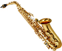 Yamaha YAS-480 Alto Saxophone Gold lacquer finish. High F# and Front F auxiliary keys