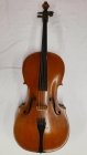 German 4/4 Cello circa 1900, 2 piece back, lightly flamed, brown varnish, good condition